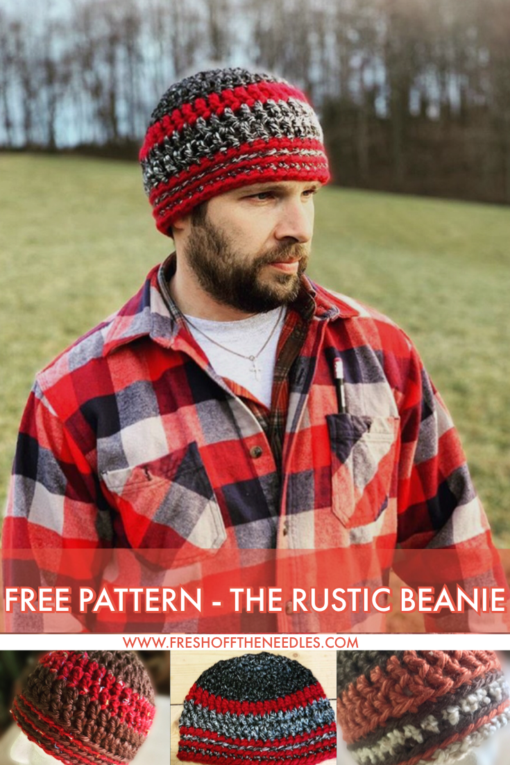The rustic beanie free pattern from fresh off the needles